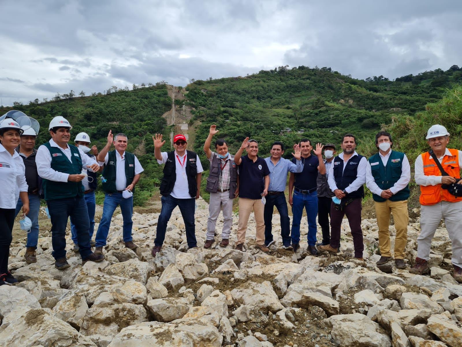 Ministro de Agricultura, Director del Proyecto Especial y Gobernador Regional, hicieron su arribo al Distrito de Huarango